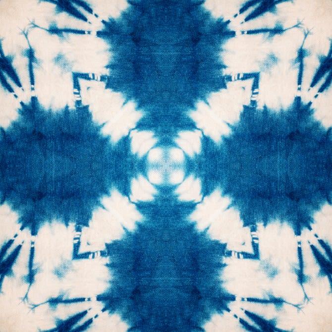 Shibori Butterfly Wallpaper by Mind The Gap