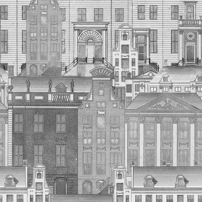 Amsterdam Neutral Wallpaper by Mind The Gap