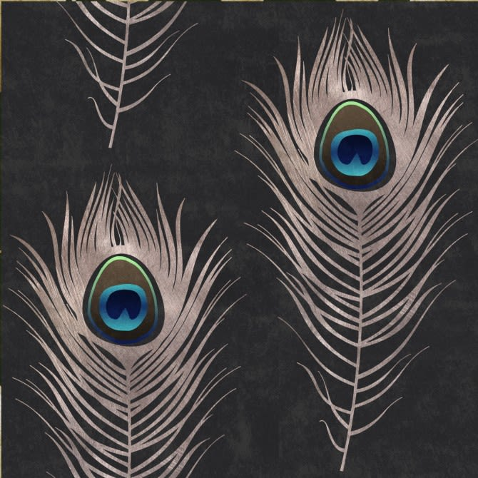 Peacock Wallpaper by Mind The Gap