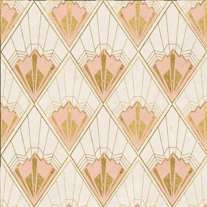 Revival Taupe Wallpaper by Mind The Gap