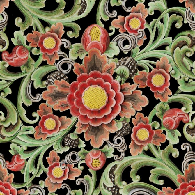 Floral Painting Wallpaper by Mind The Gap