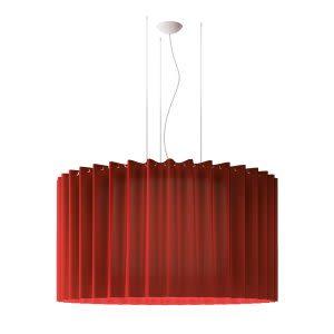 Light Grey, No Black Net, E27,Axo Light,Pendant Lights,ceiling,ceiling fixture,lamp,light,light fixture,lighting,red