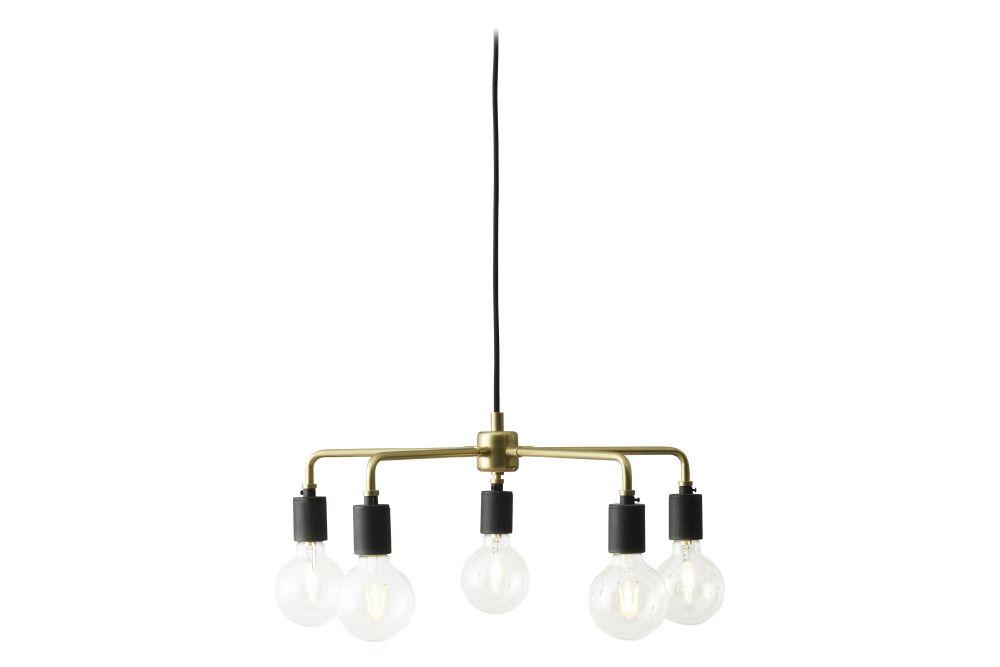 Brass,MENU,Chandeliers,ceiling,ceiling fixture,chandelier,lamp,light fixture,lighting,product
