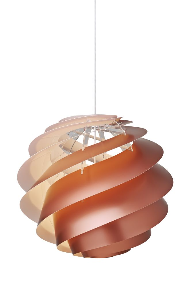 White, Small,Le Klint,Pendant Lights,ceiling,ceiling fixture,lamp,lampshade,light,light fixture,lighting,lighting accessory,orange