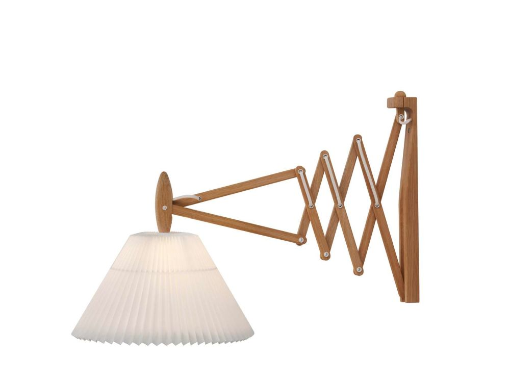 Smoked Oak/Plastic Shade,Le Klint,Wall Lights,light fixture,product