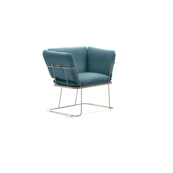 Revive 1 224, White,B-LINE,Lounge Chairs,chair,club chair,furniture,turquoise