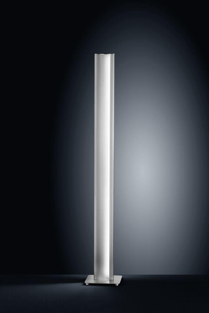 Nickel Matt Anodised - Chrome,Helestra,Floor Lamps,column,cylinder,light,lighting