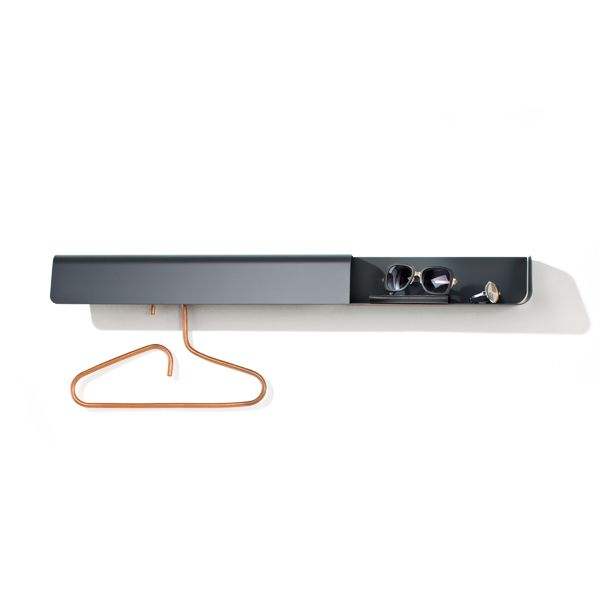 Anthracite Grey,B-LINE,Hooks & Hangers,furniture,product,rectangle
