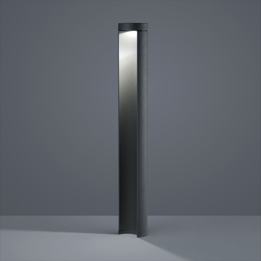 Graphite,Helestra,Outdoor Lighting,column,floor,lamp,light,light fixture,lighting