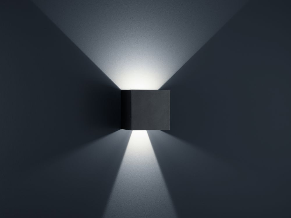 White Matt,Helestra,Wall Lights,architecture,blue,darkness,light,lighting,line,sky,symmetry