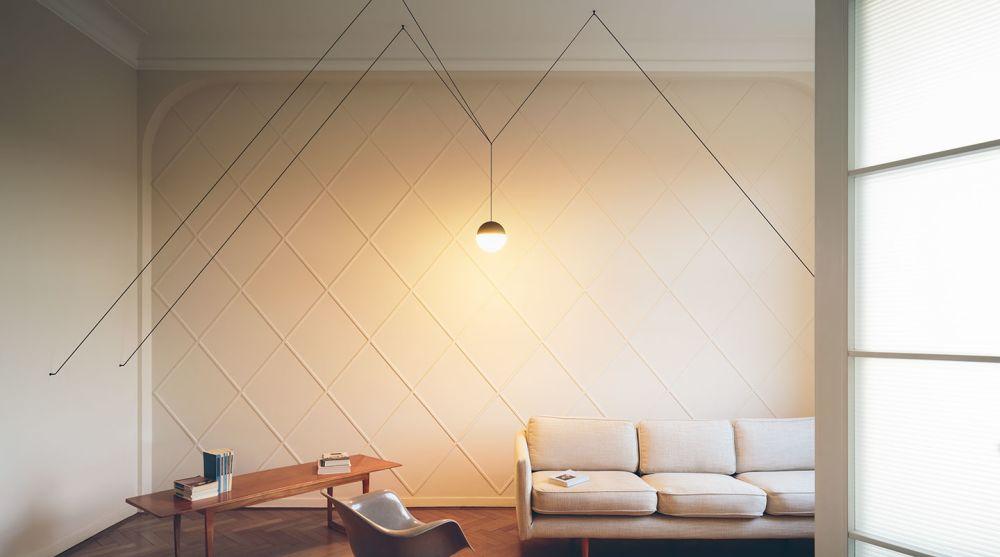 String Light Sphere Pendant Light from Flos