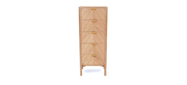 Natural Oak,HARTÔ,Chest of Drawers,chiffonier,furniture,wood