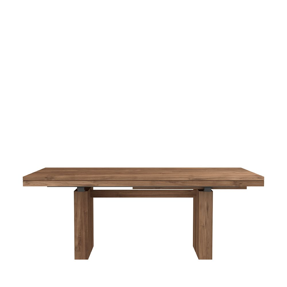 Double Extendable Dining Table From Ethnicraft