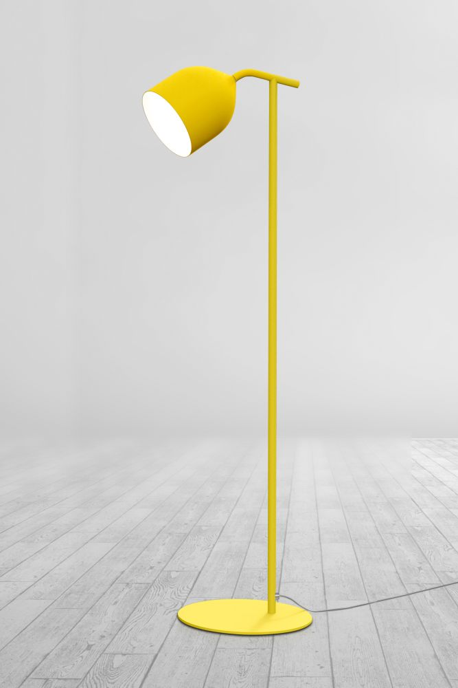 105 Fine Textured White,Lumen Center Italia,Floor Lamps,floor,flooring,lamp,light fixture,lighting,street light,yellow