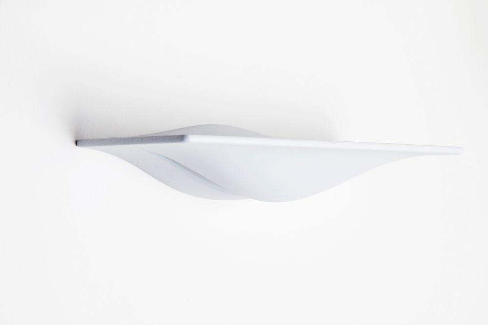 106 Matt White,Lumen Center Italia,Wall Lights,ceiling,lamp,light fixture,lighting,sconce,white