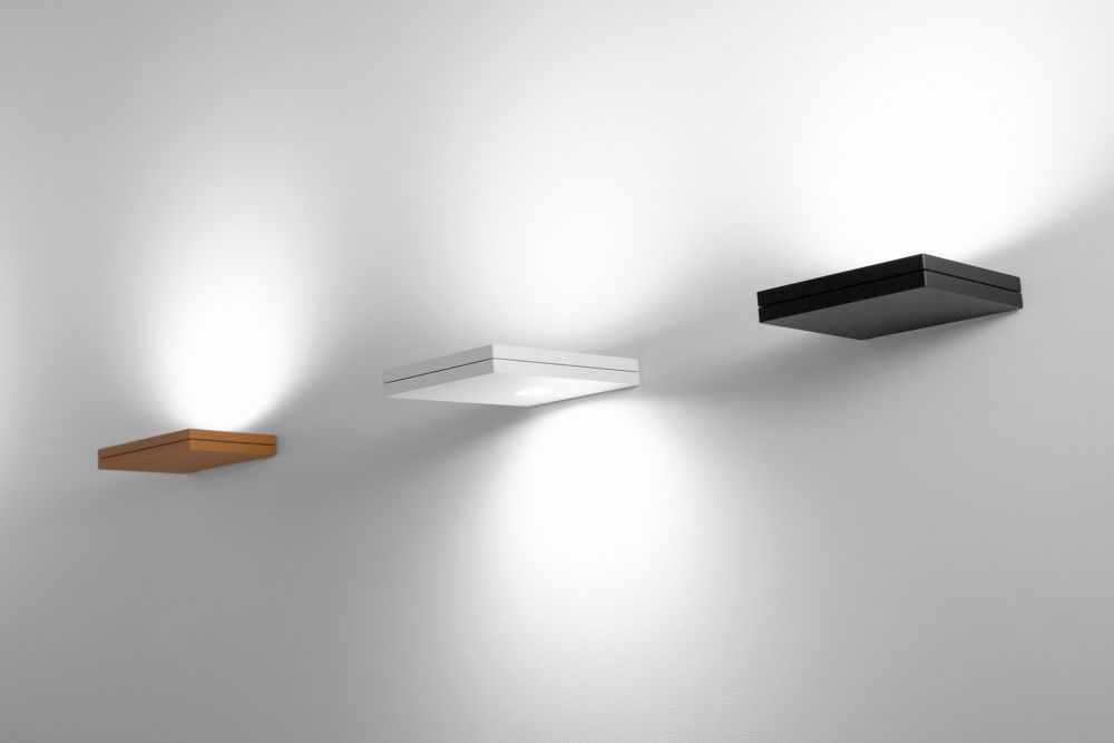 102 Matt Black,Lumen Center Italia,Wall Lights,ceiling,furniture,light,light fixture,lighting,sconce,shelf,wall