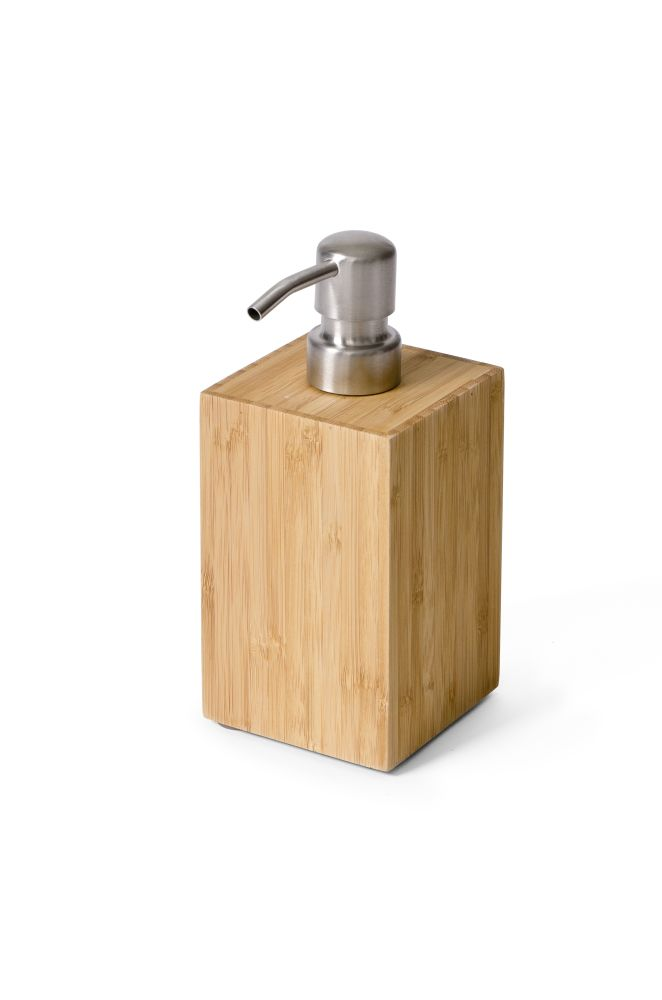 bathroom accessory,product,soap dispenser,wood
