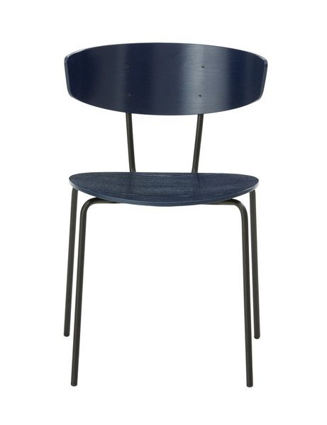 Dark Blue,ferm LIVING,Dining Chairs,chair,furniture,table