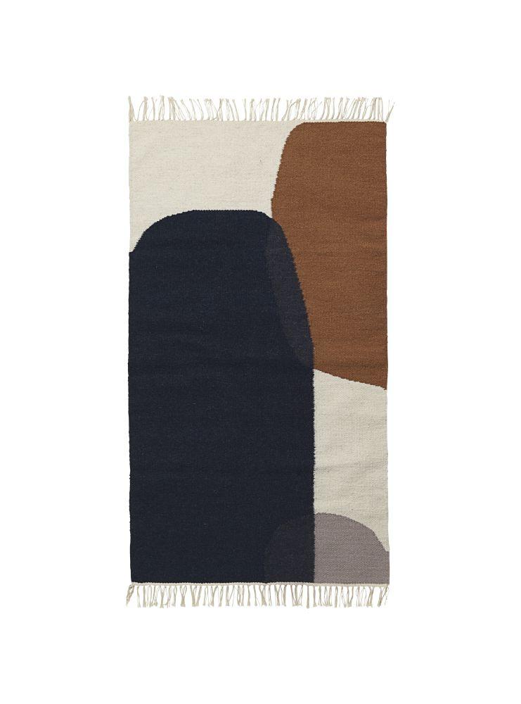ferm LIVING,Rugs,beige,brown