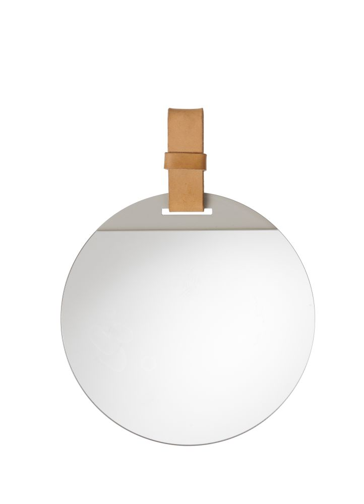 Small,ferm LIVING,Mirrors,beige,circle