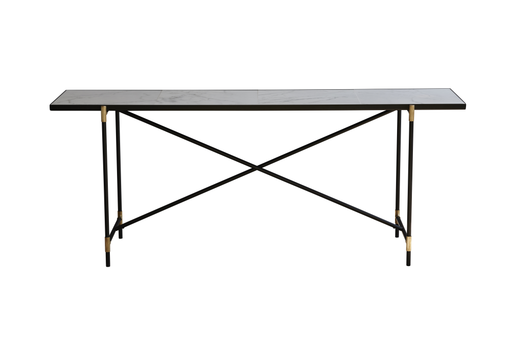 Black Marble,HANDVÄRK,Console Tables,desk,furniture,outdoor table,rectangle,sofa tables,table