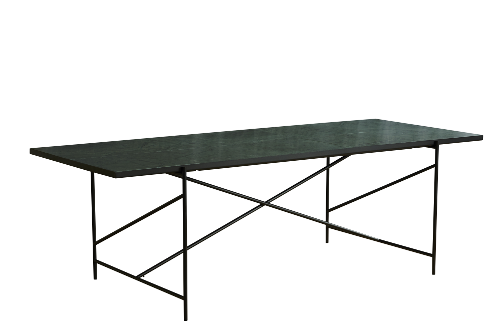 Black Marble, Black Base, 185 cm,HANDVÄRK,Dining Tables,coffee table,furniture,outdoor table,rectangle,table