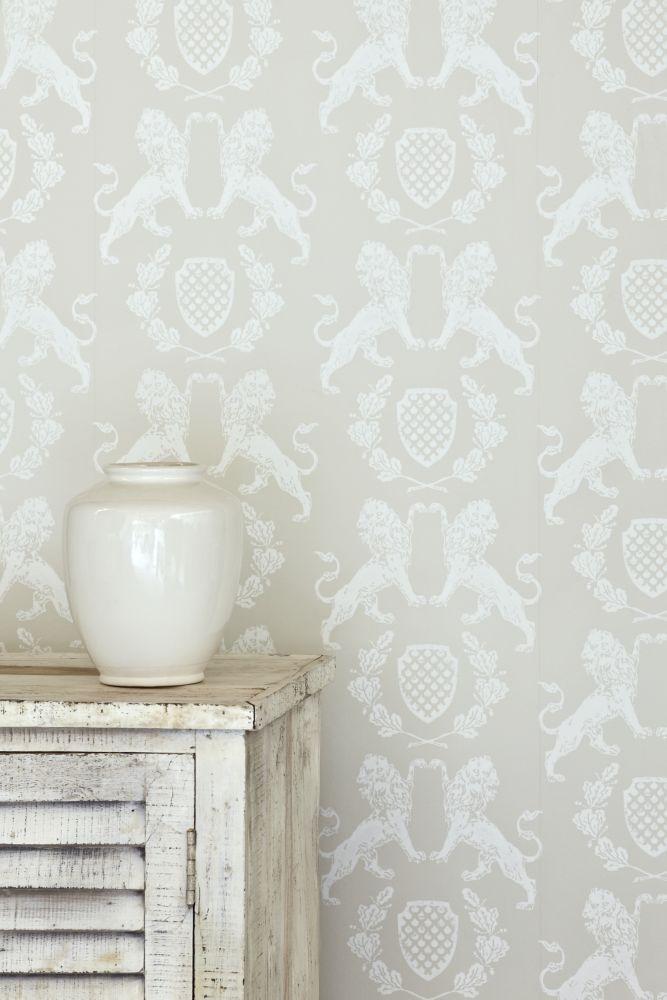 Wedgewood Blue,Barneby Gates,Wallpapers,beige,pattern,room,tile,wall,wallpaper