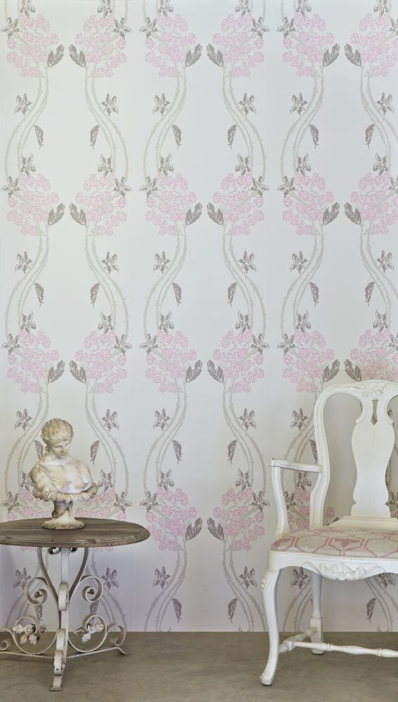Blackberry,Barneby Gates,Wallpapers,curtain,interior design,pattern,pink,wall,wallpaper