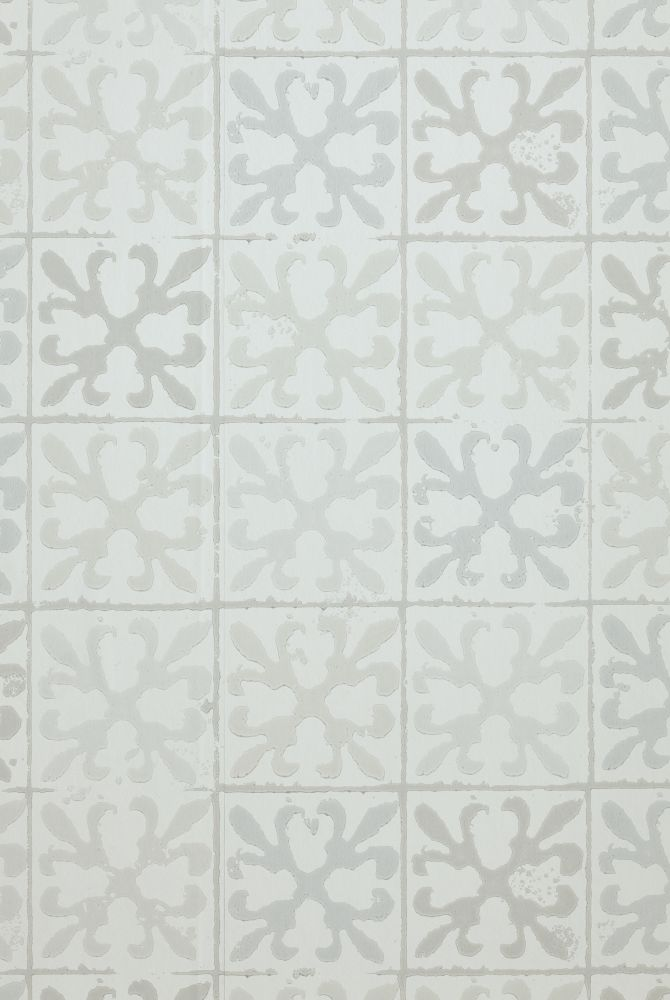 Fleur de Lys Tile Wallpaper  by Barneby Gates