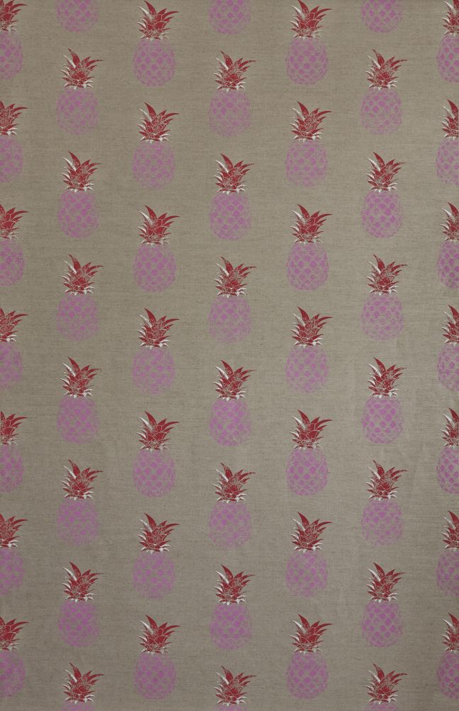 Pink/Red on Cream,Barneby Gates,Fabrics,design,pattern,pink,red,textile,wrapping paper