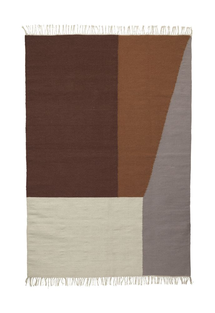 Large,ferm LIVING,Rugs,beige,brown,plywood,rectangle,wood