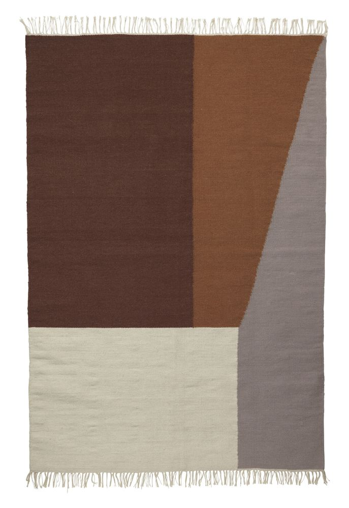 Extra Large,ferm LIVING,Rugs,beige,brown,rectangle