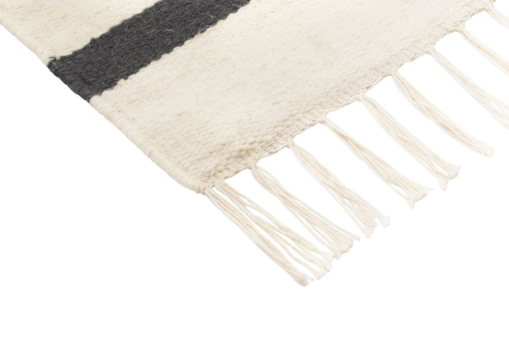 ferm LIVING,Rugs,beige,white,wool