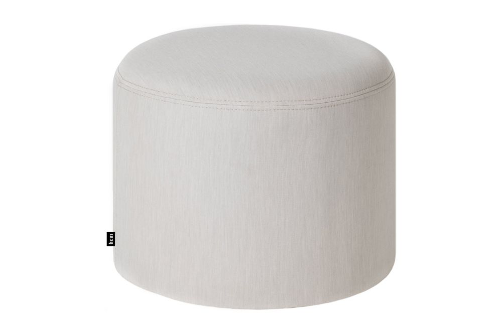 Uniform Melange Shell,Hem,Stools,beige,cylinder,furniture,ottoman,stool