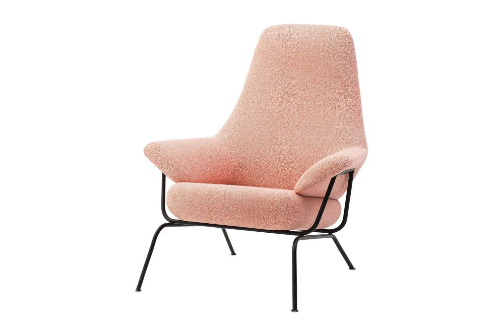 Uniform Melange Shell,Hem,Lounge Chairs,beige,chair,furniture,pink