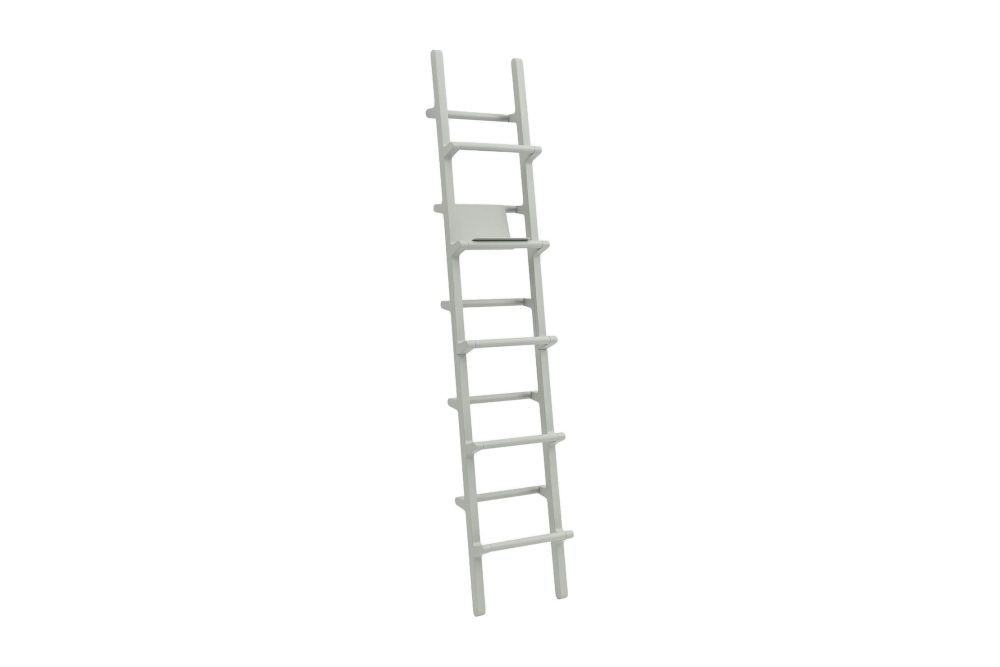 Black Lacquered Ash,Hem,Bookcases & Shelves,ladder