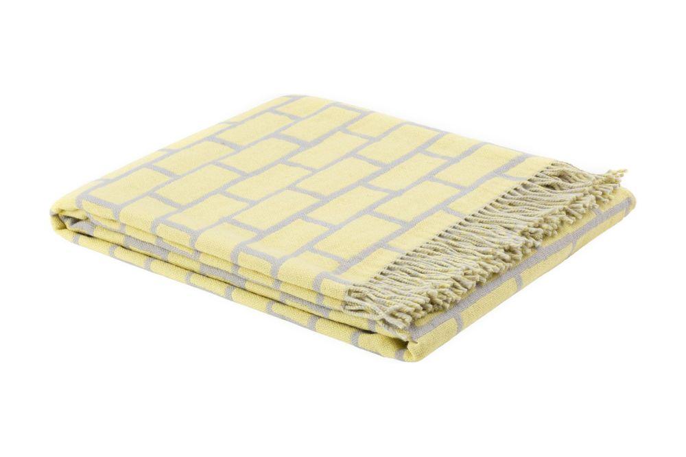 Yellow/Grey,Hem,Blankets & Throws,bedding,beige,mattress pad,yellow