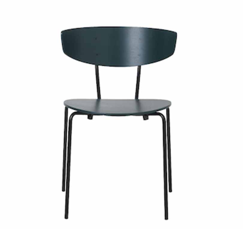 Black,ferm LIVING,Dining Chairs,chair,furniture,table