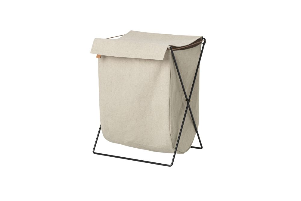 ferm LIVING,Decorative Accessories,beige,laundry basket,table