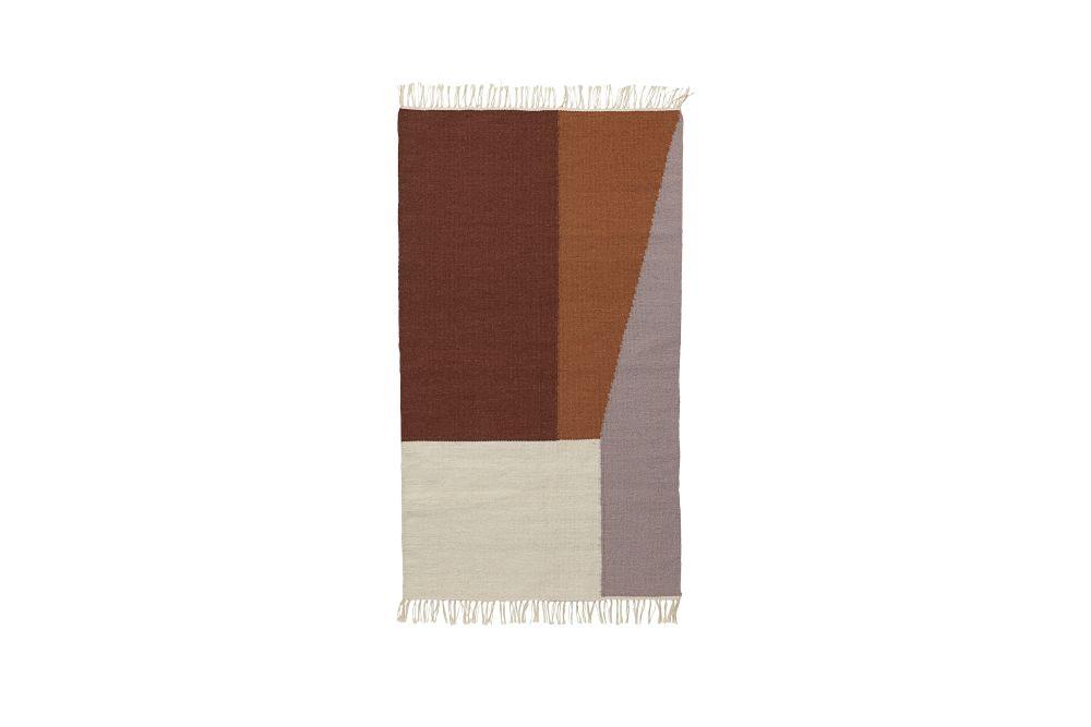 ferm LIVING,Rugs,beige,brown,paper bag,tan