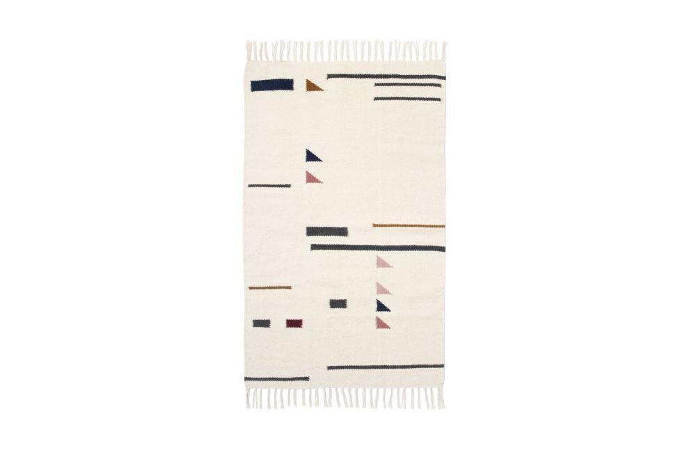 Kelim Rug, Colour Traingles, Small - Set of 2 by ferm LIVING