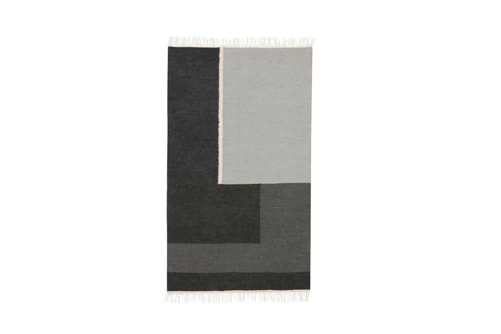 ferm LIVING,Rugs,beige,black,grey,rectangle