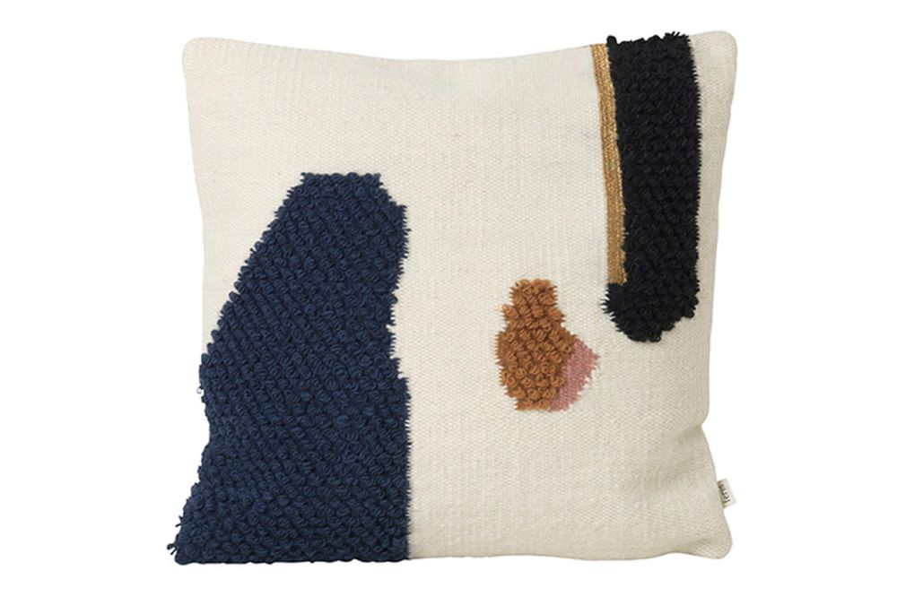Mount,ferm LIVING,Cushions,beige,brown,cushion,furniture,pillow,textile,throw pillow,wool