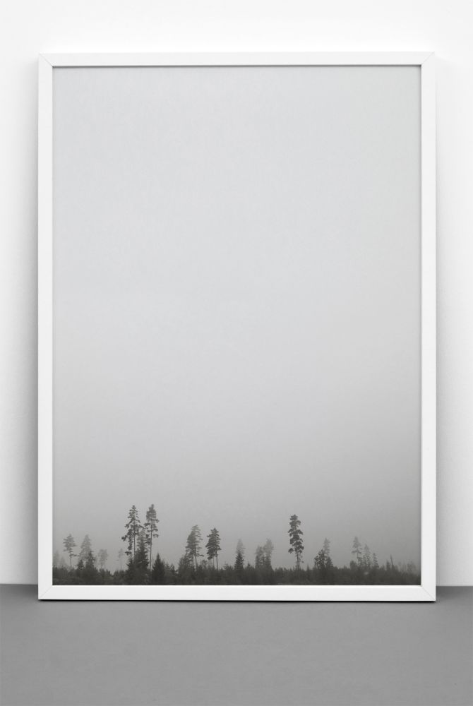 FOR REST print,One Must Dash,Prints & Artwork,atmospheric phenomenon,picture frame,rectangle,sky,tree,white