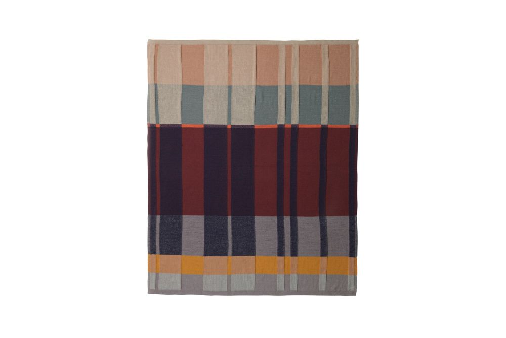 Medley Knit Blanket - Set of 2 by ferm LIVING