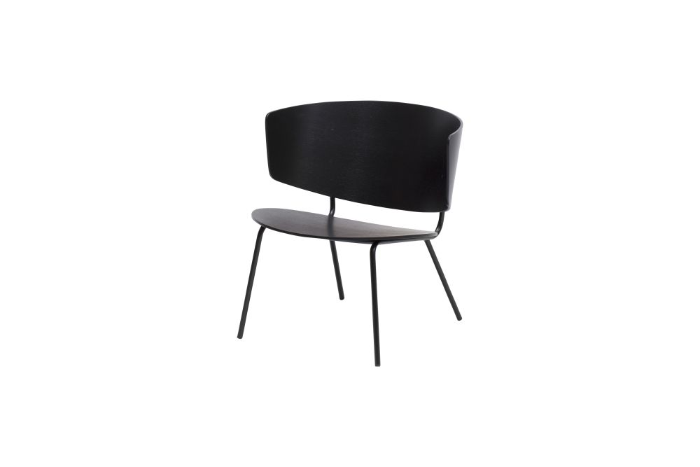 Black,ferm LIVING,Lounge Chairs,chair,furniture
