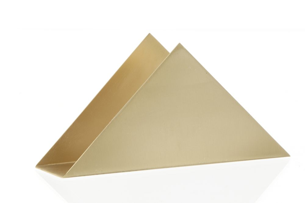 Brass Triangle Stand - Set of 8 by ferm LIVING