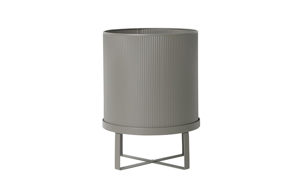 Small, Warm Grey,ferm LIVING,Plant Pots,cylinder,product,table