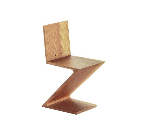 Miniature Zig Zag Stoel by Vitra