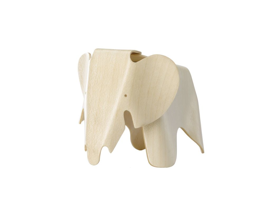 Miniature Plywood Elephant by Vitra